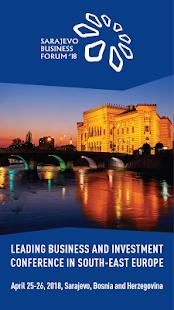 Sarajevo Business Forum 2018 - náhled