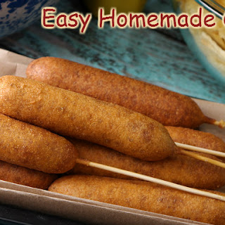 Easy Homemade Corndogs