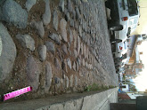 Photo: Close up of the cobblestone street