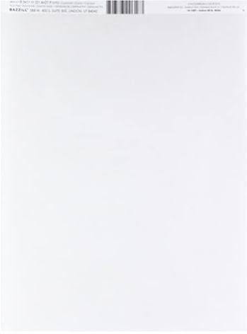Bazzill Vellum 40lb 8.5X11 - White 40lb