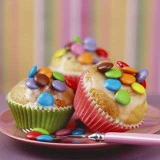 Sweetie-topped Muffins