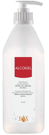Dax Alcogel 85 600ml med pump