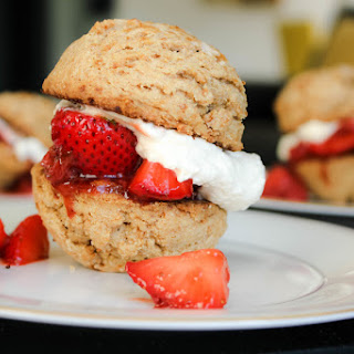 Clean Strawberry Shortcake Dessert