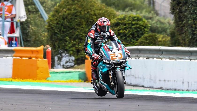 Pabio Quartararo logra la solé en Jerez