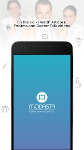Modasta: Consult Doctor Online, Health Information- screenshot thumbnail