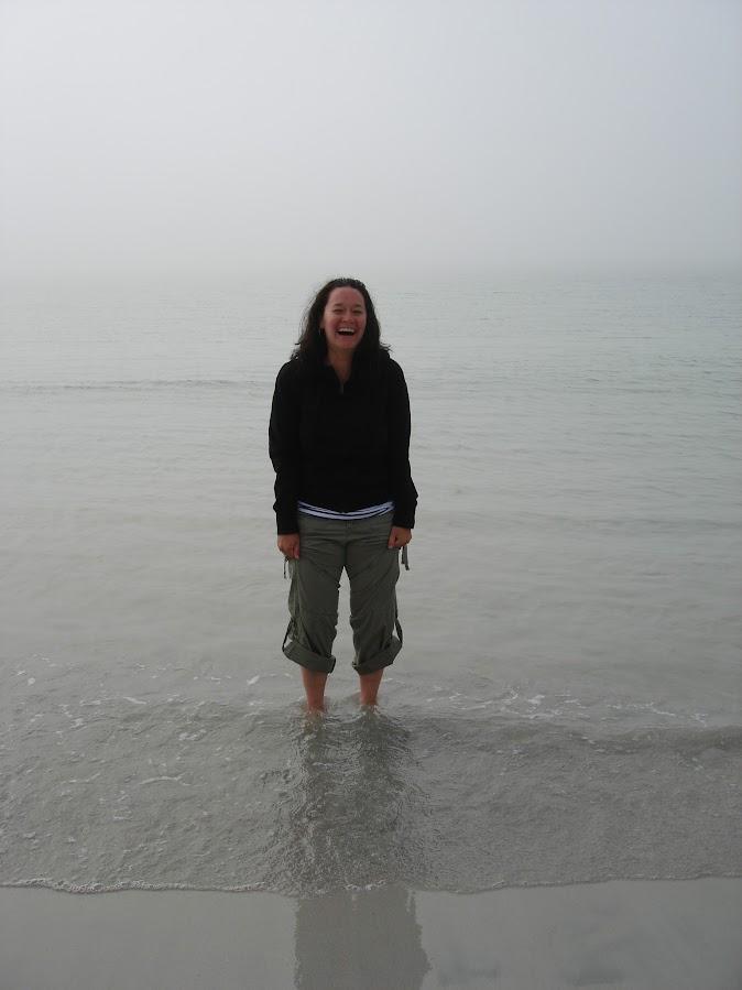 So cold in the Arctic sea!