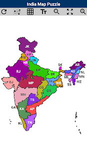 India map puzzle android apps on google play india map puzzle screenshot thumbnail gumiabroncs Images