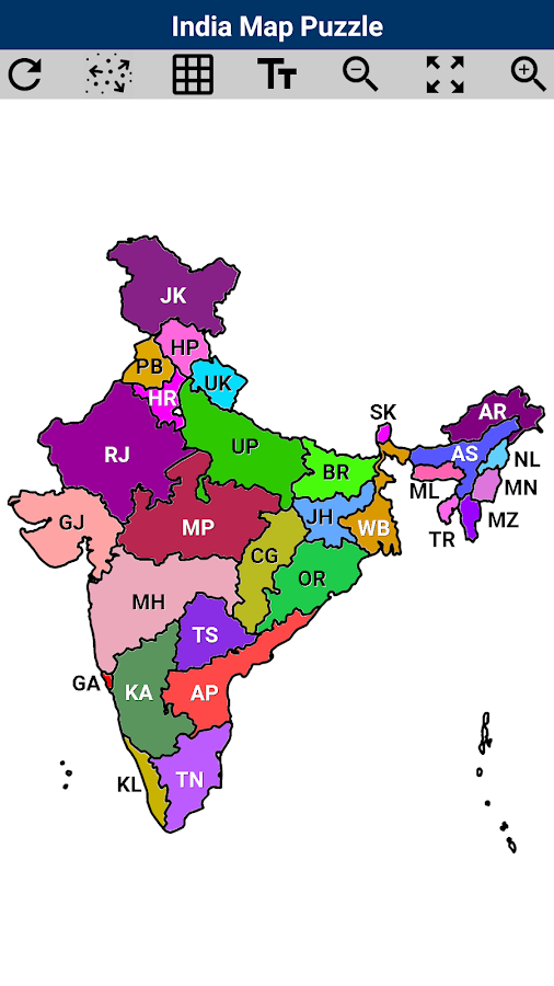 Worksheet. India Map Puzzle  Android Apps on Google Play