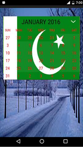 android urdu calendar 2016 Screenshot 1