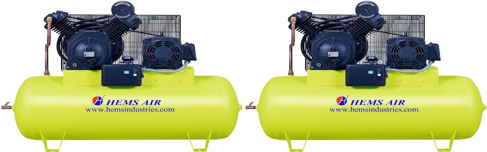 Two Stage Low Pressure Compressor