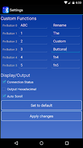 Bluetooth Terminal screenshot 1