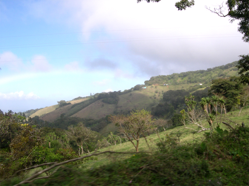 Photo: on the bus to lake arenal
