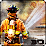 City Heroes Firefighter Rescue Icon