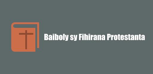 BAIBOLY FIHIRANA PROTESTANTA GRATUITEMENT TÉLÉCHARGER