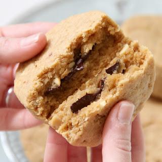 Chocolate-Stuffed Peanut Butter Scones