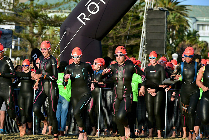 1 September 2018 - The Isuzu Ironman 70.3 World Championship in Nelson Mandela Bay