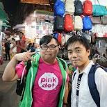 my HK friends at the Temple Street night market in Hong Kong, , Hong Kong SAR