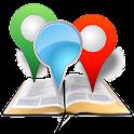Lugares de la Biblia icon