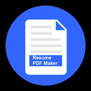 resume pdf maker cv builder for pc