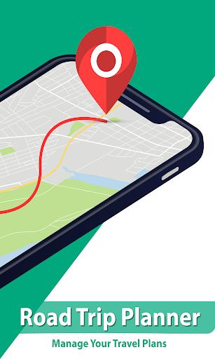 GPS Navigation Route Finder u2013 Map & Speedometer 1.0.6 screenshots 2