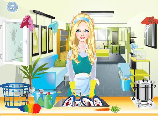 Gina - House Cleaning Games 6.7.2 screenshots 1
