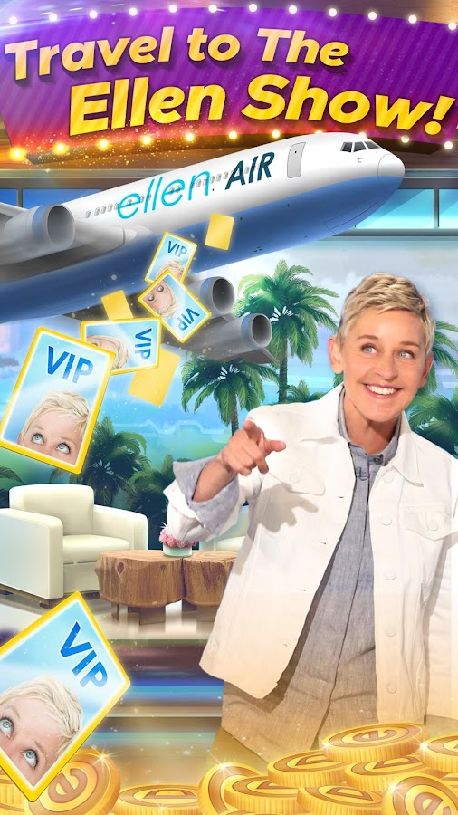casino slots with ellen degeneres