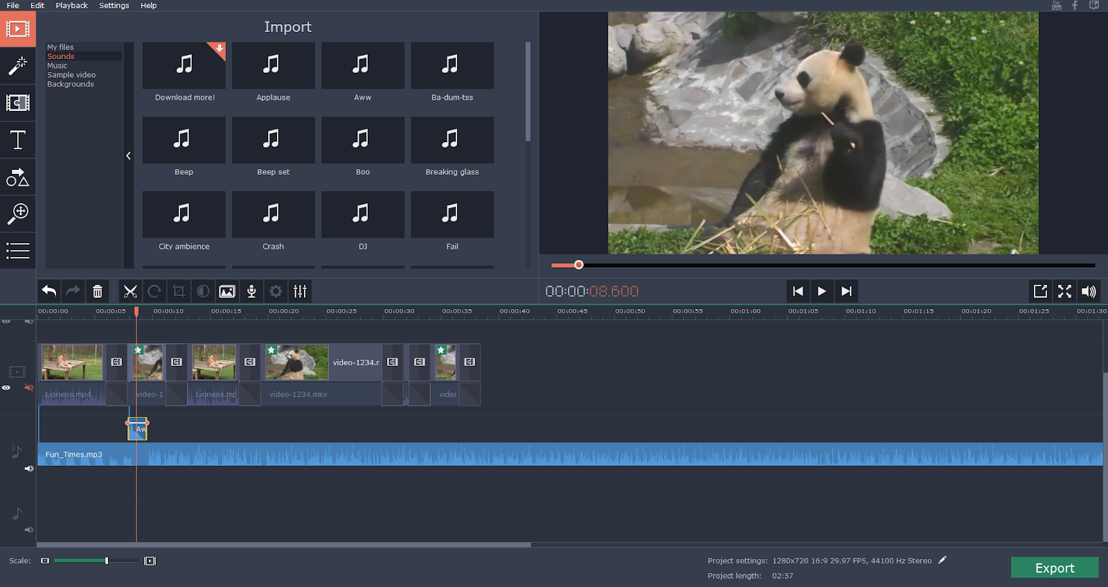 Video Editing on Mac with Movavi
