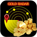 Gold Metal Detector Scanner icon