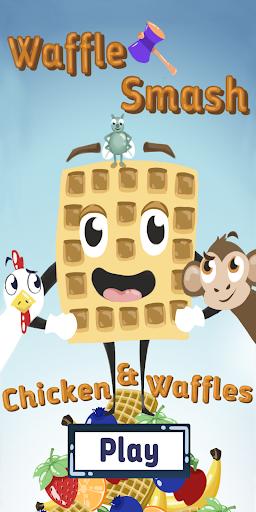Waffle Smash: Chicken & Waffles  captures d'écran 1
