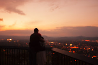 Photo: You & Me & the Photographer Make Three | At Mill Mountain Overlook © 2012 Ryan Lynham