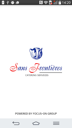 SANS FRONTIERES CATERING