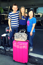 Photo: Bye bye, SF! (With Susie, the Production Manager)