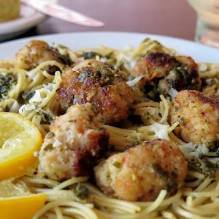 Garlicky Shrimp Meatballs #SundaySupper