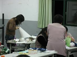 Photo: 20110407把玩藍色-植物藍染技藝001