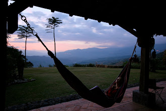 Photo: The Finca is first and foremost a place to relax. Take your pick from any of the comfortable hammocks, lakeside recliners, or bedrooms with a view to Colombian paradise. You cannot be at the Finca and not unwind.