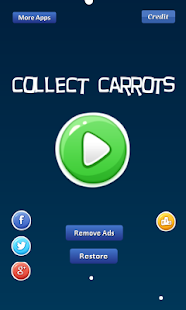 Collect Carrots-planet carrots - náhled