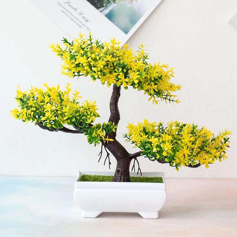 Artifitial Fake Plants Bonsai Tree Pot Plants Flowers Home Hotel Garden Decor Ebay