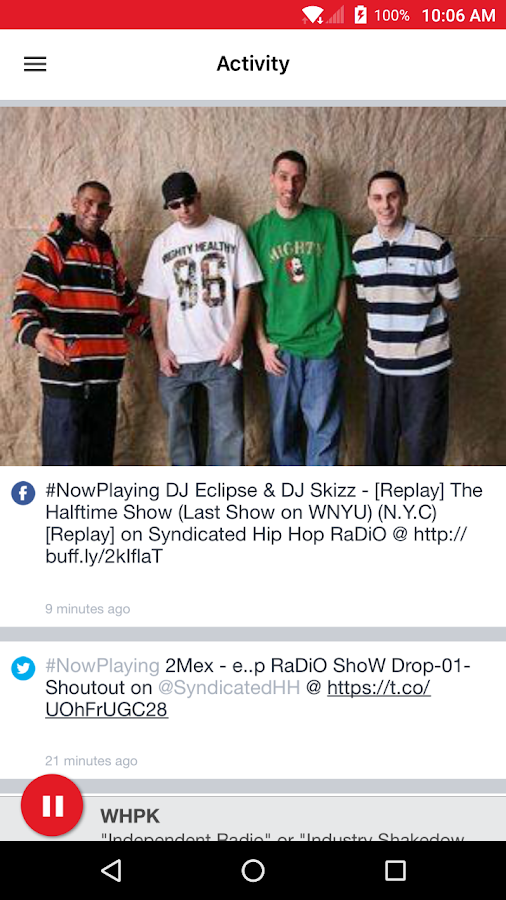 Syndicated Hip Hop RaDiO- screenshot