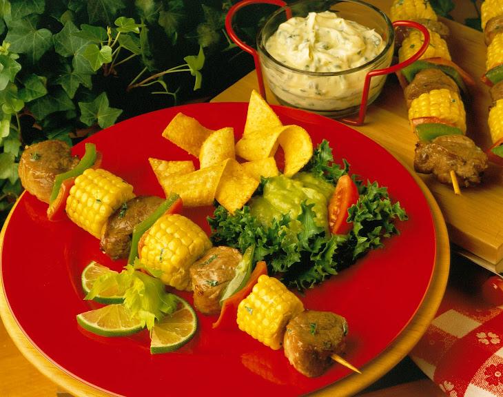 Margarita Pork Kabobs Recipe