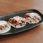 Steak + Avocado Tacos