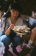 Photo: 03126 ウランバートル/牧民の家/乳製品盛り合わせ