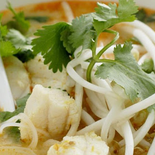 Quick Malaysian Style Fish Soup.