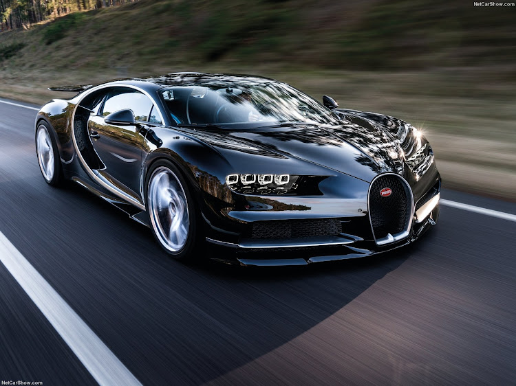 The Chiron is electronically governed to 420km/h because there aren't any tyres that can handle faster speeds. Picture: NETCARSHOW