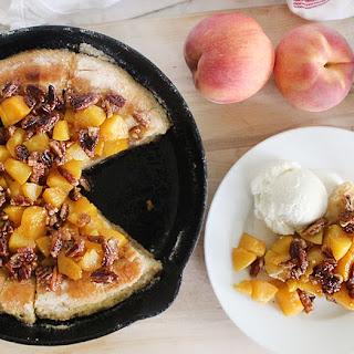 Fried Peach Dessert Pizza Recipe