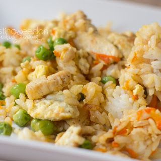 Gluten, Dairy, and Soy Free Chicken Fried Rice