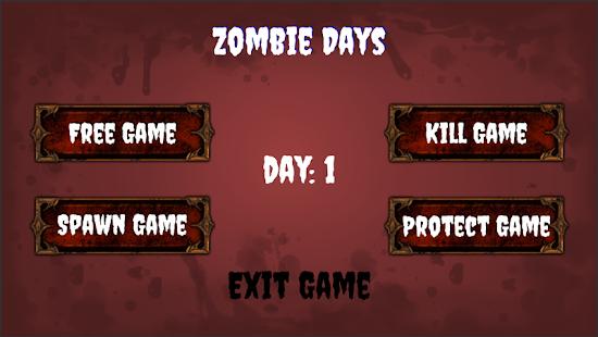Zombie Days - náhled