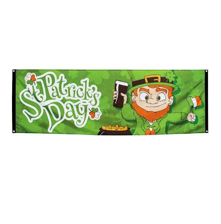 Banner, St Patricks day 220x74 cm