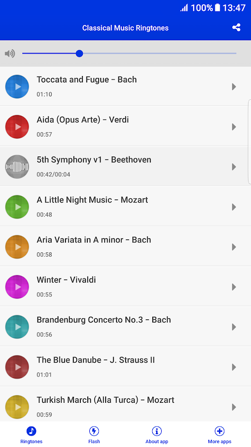 Classical Music Ringtones- screenshot