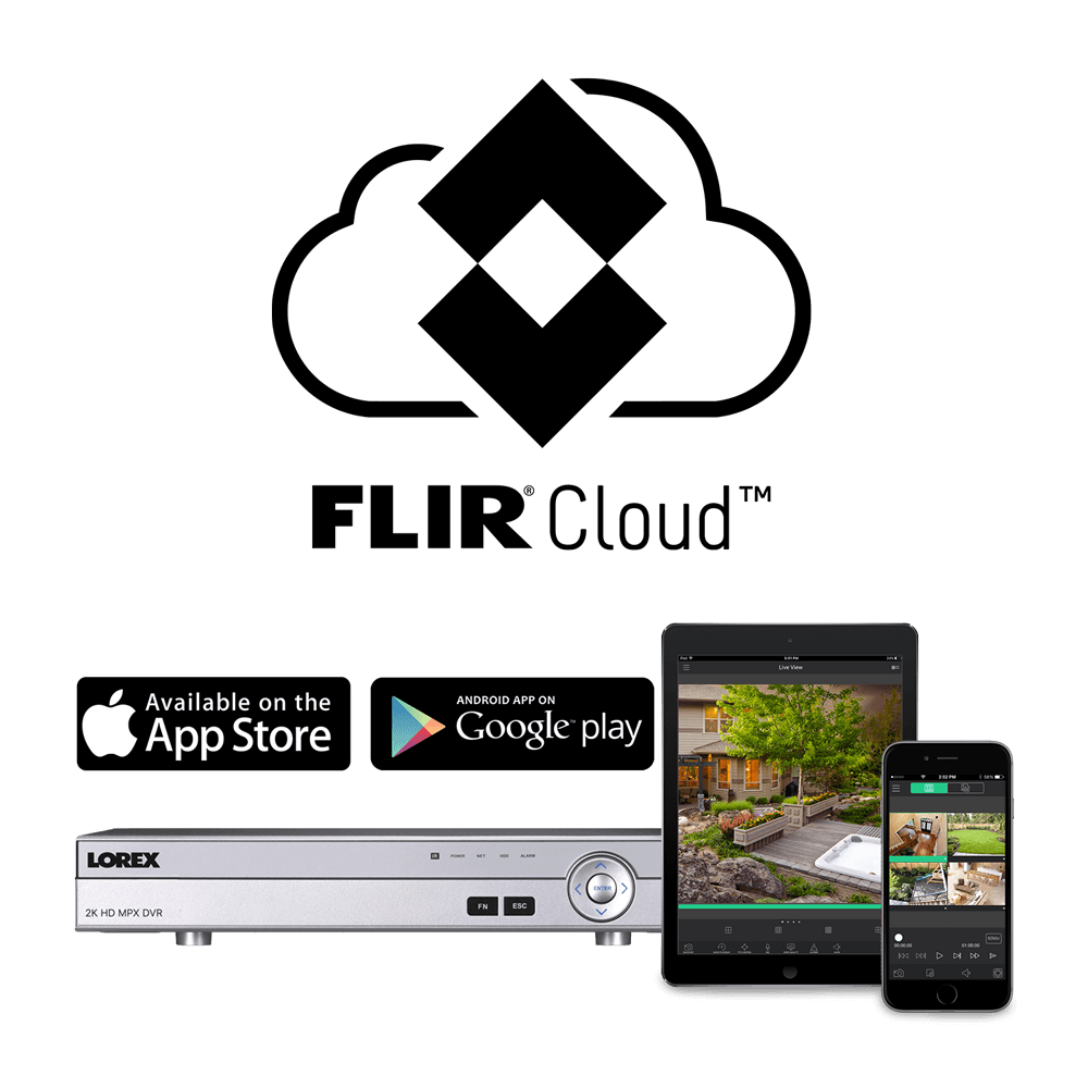 FLIR Cloud app for 2K DVR