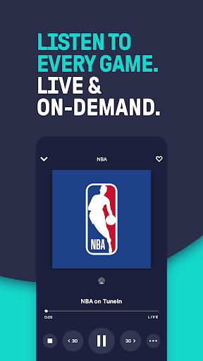 TuneIn - NBA Radio, Breaking News & Podcasts 23.6.1 1